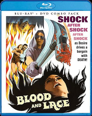 Blood and Lace Blu-ray cover