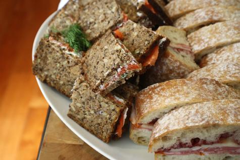 scrumdillydilly: our favorite summer sandwich