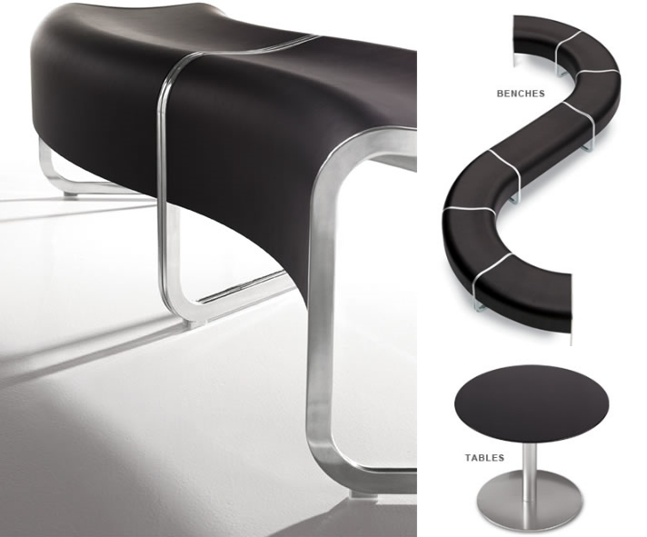 Kershner Office Furniture Curvaceous Foxy Meandering