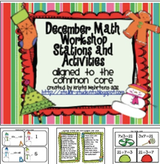 http://www.teacherspayteachers.com/Product/December-to-the-Core-Math-Workshop-Activities-and-Stations-424816