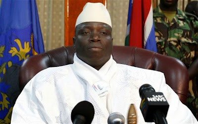 Gambian President threatens to 'slit the throats' of gay people in the country