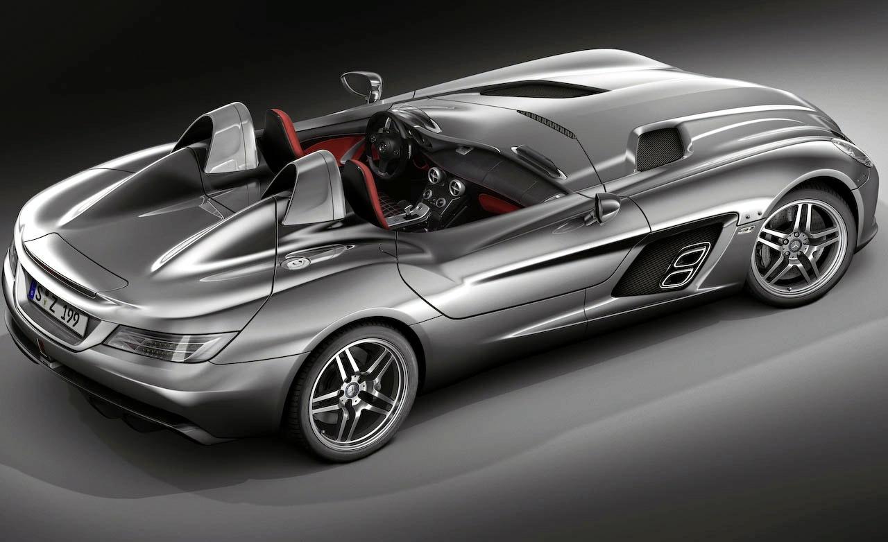New Mercedes SLR