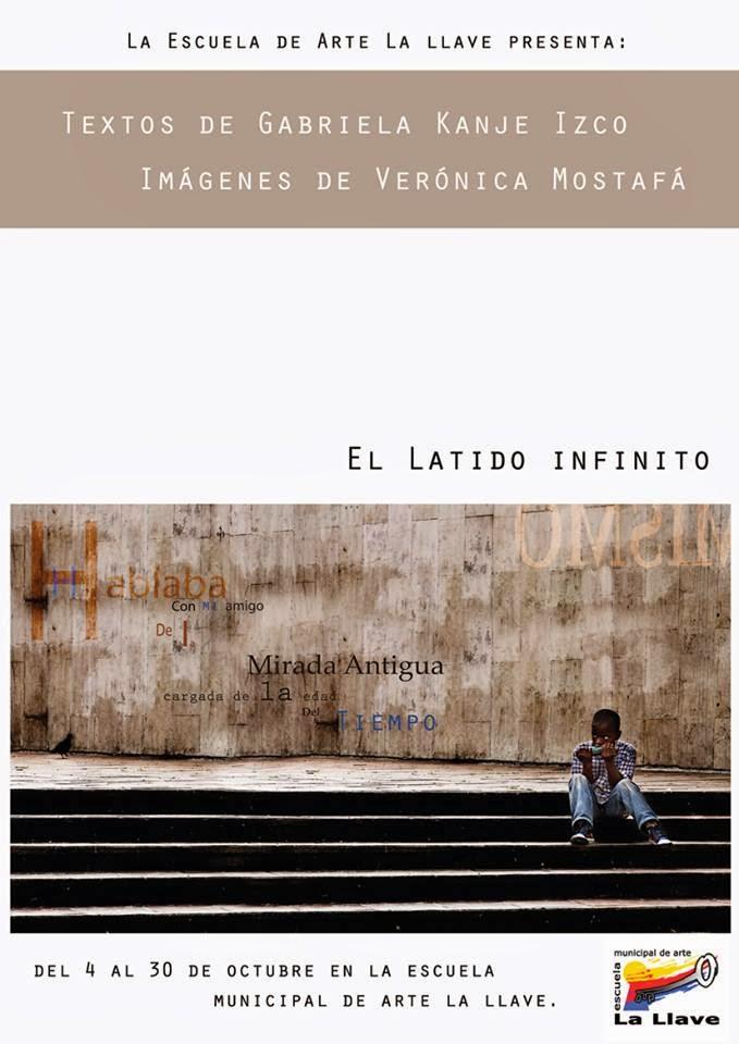 El latido infinito, textos e imágenes