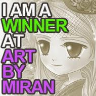 Winner Artbymiran challenge nº44