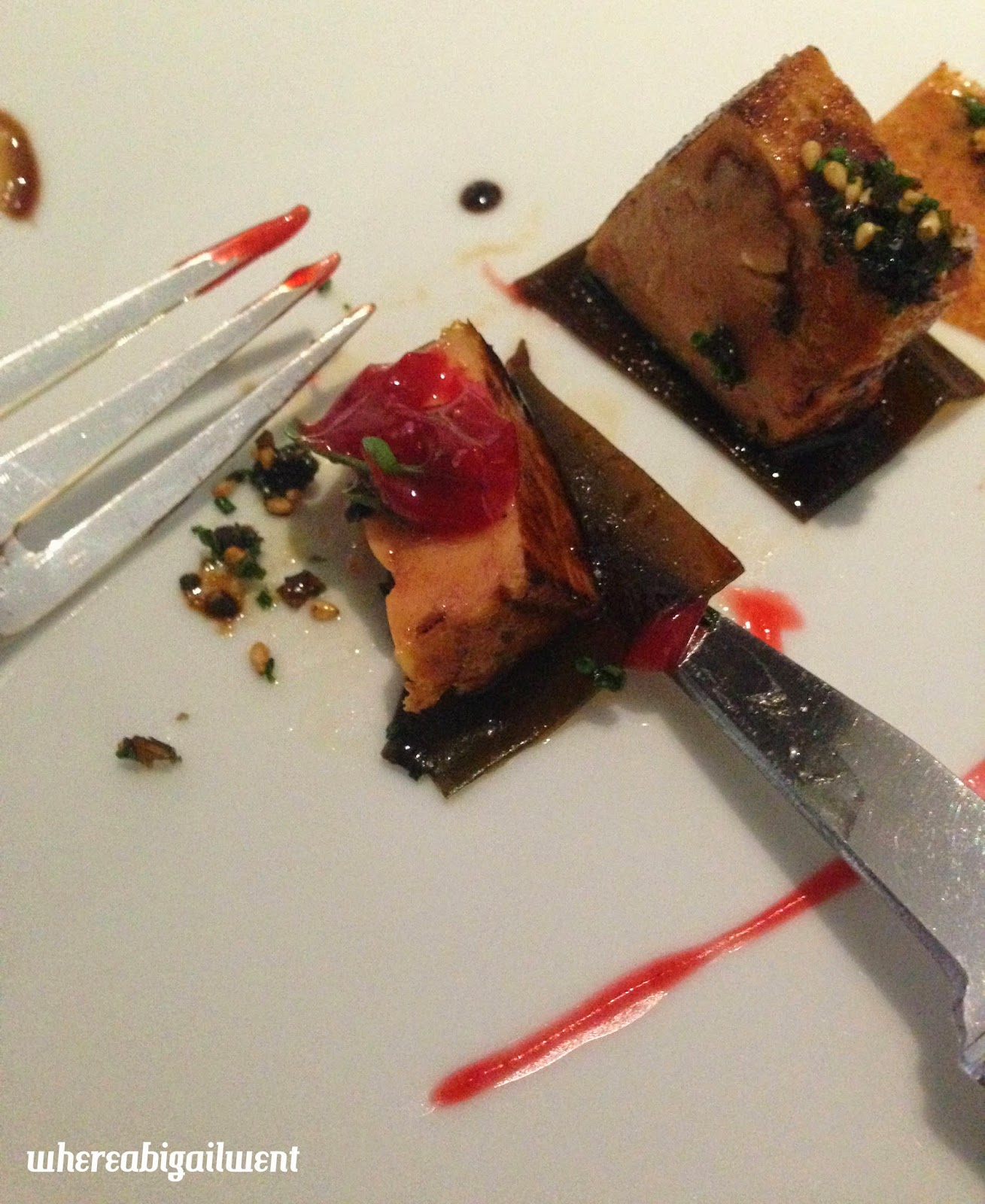 Japanese Roast Foie Gras