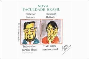 Crítica. Brasil é o paraíso dos contraventores.