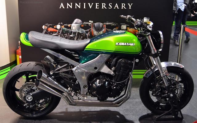 Kawasaki Z1000 40th Anniversary Concept | Kawasaki Z1000 | Kawasaki Z1000 cafe racer | kawasaki cafe racer