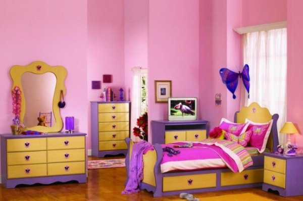 Pink Color In Home Decorating