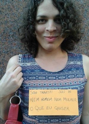 Famosos e seriados ajudam a quebrar preconceitos contra transgêneros - Amara Moira, travesti e ativista, contou que ter referências positivas, como Laerte, a ajudou a entender melhor o que vivia