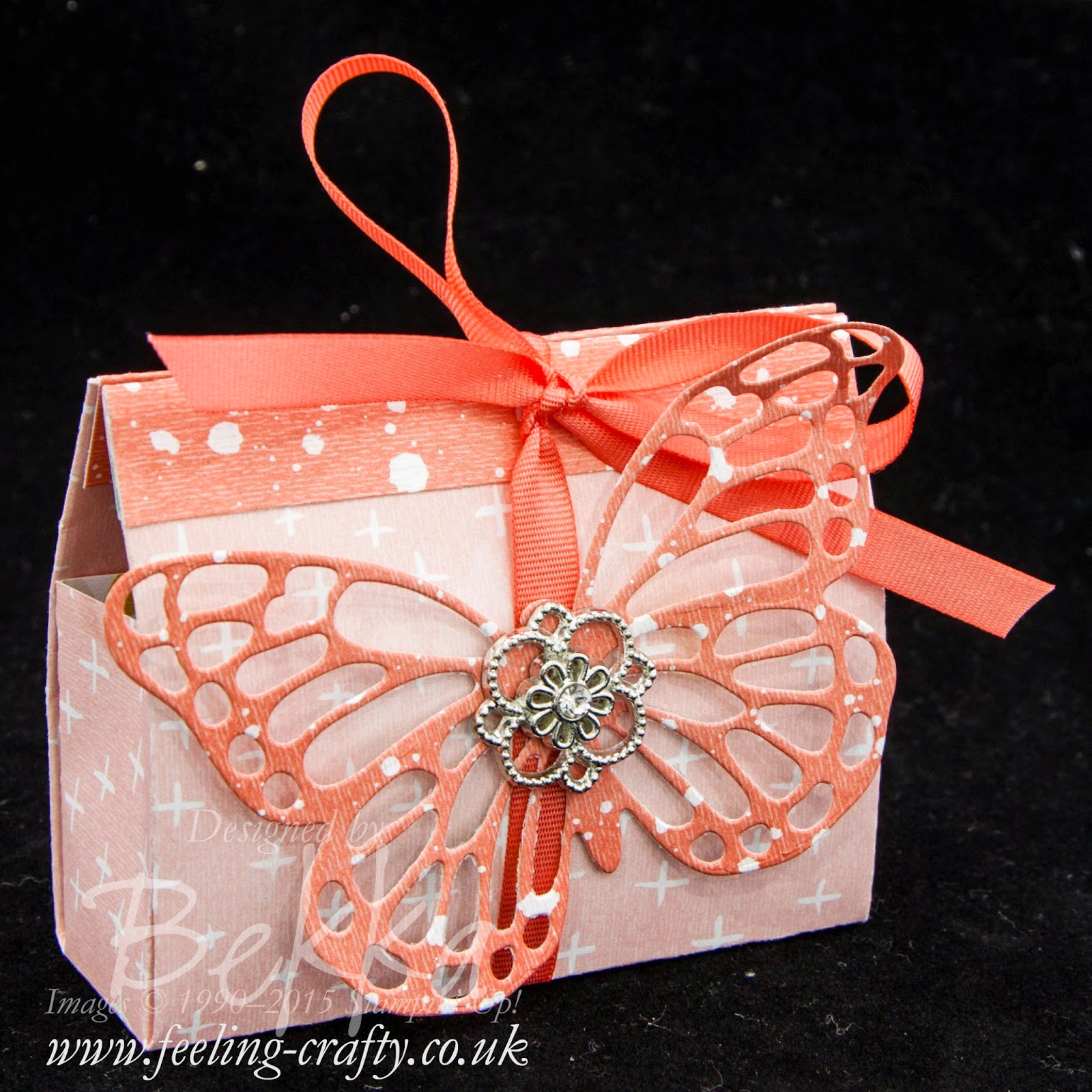 Butterfly Basics Gift Bag - check out this blog for lots of great ideas