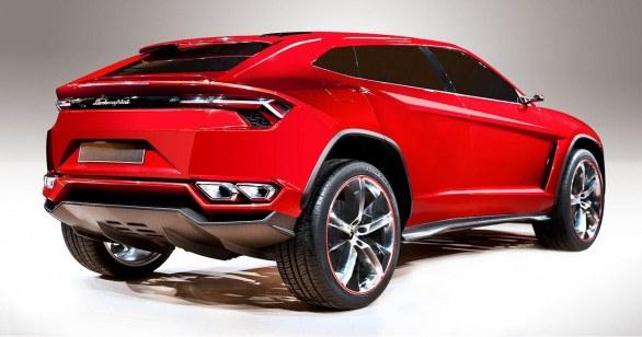 lamborghini urus suv concept rear view
