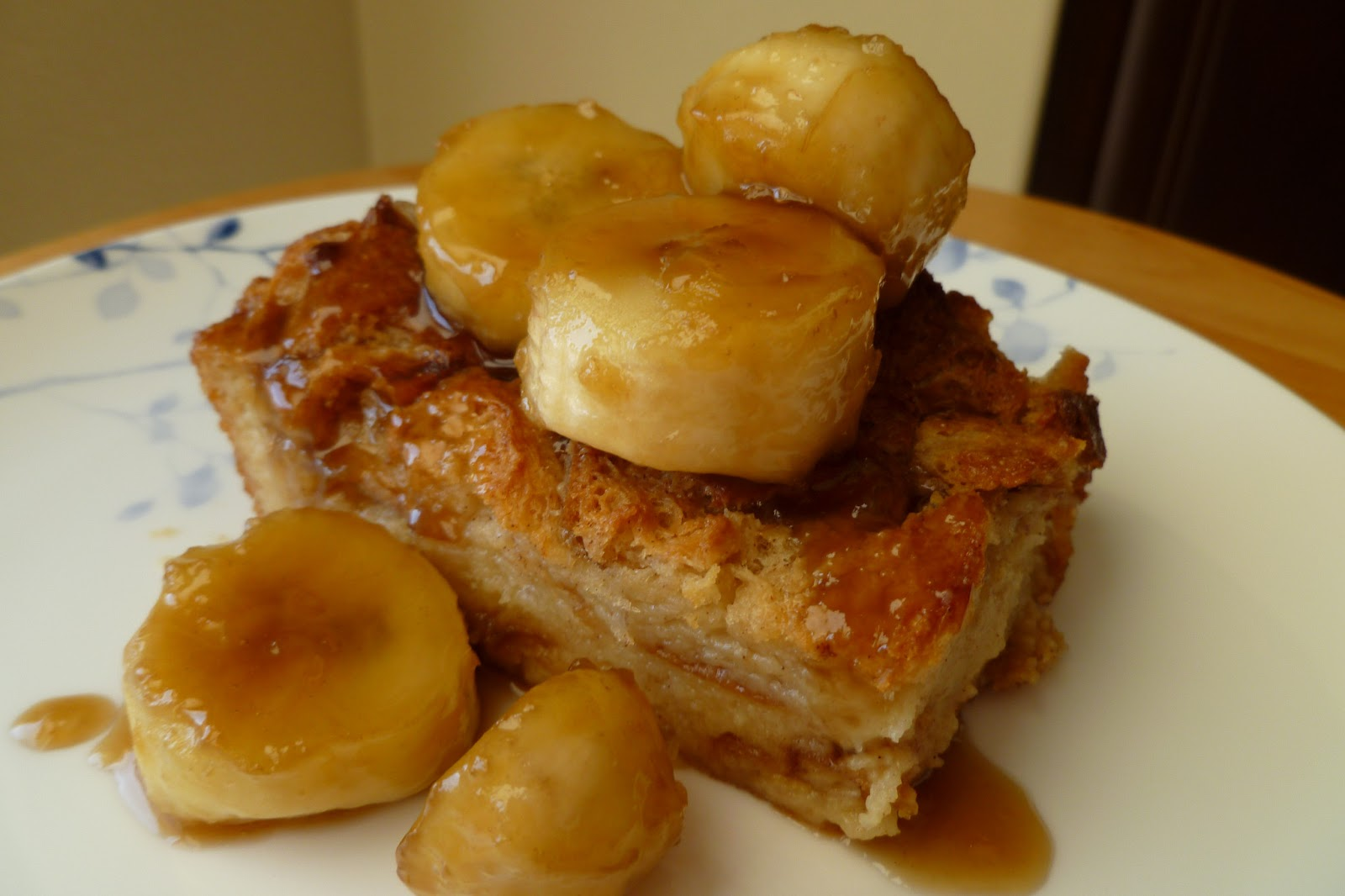 The Pastry Chef's Baking: Banana Caramel Bread Pudding