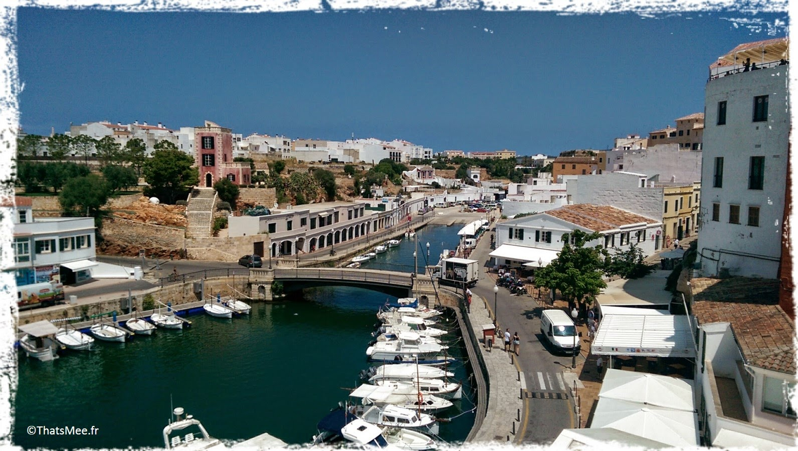 Menorca Minorque Baleares Espagne vacances holidays  Europe port boats bateaux Ciutadella