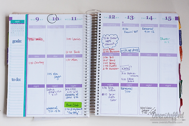 Choosing A Planner That Is Right For You  Overstuffed