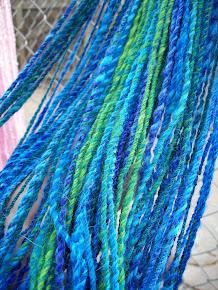 Pure angora bunny yarn