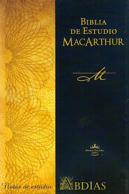 Biblia De Estudio MacArthur-Abdías-Notas De Estudio-