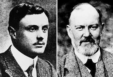 Charles Rolls y Henry Royce