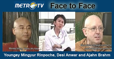 Face to Face Mingyur Rinpoche and Ajahn Brahm