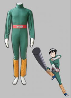 Naruto and Rock Lee