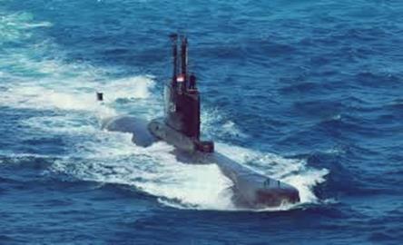 Gambar ilustrasi kapal selam terbaru milik TNI AL Indonesia