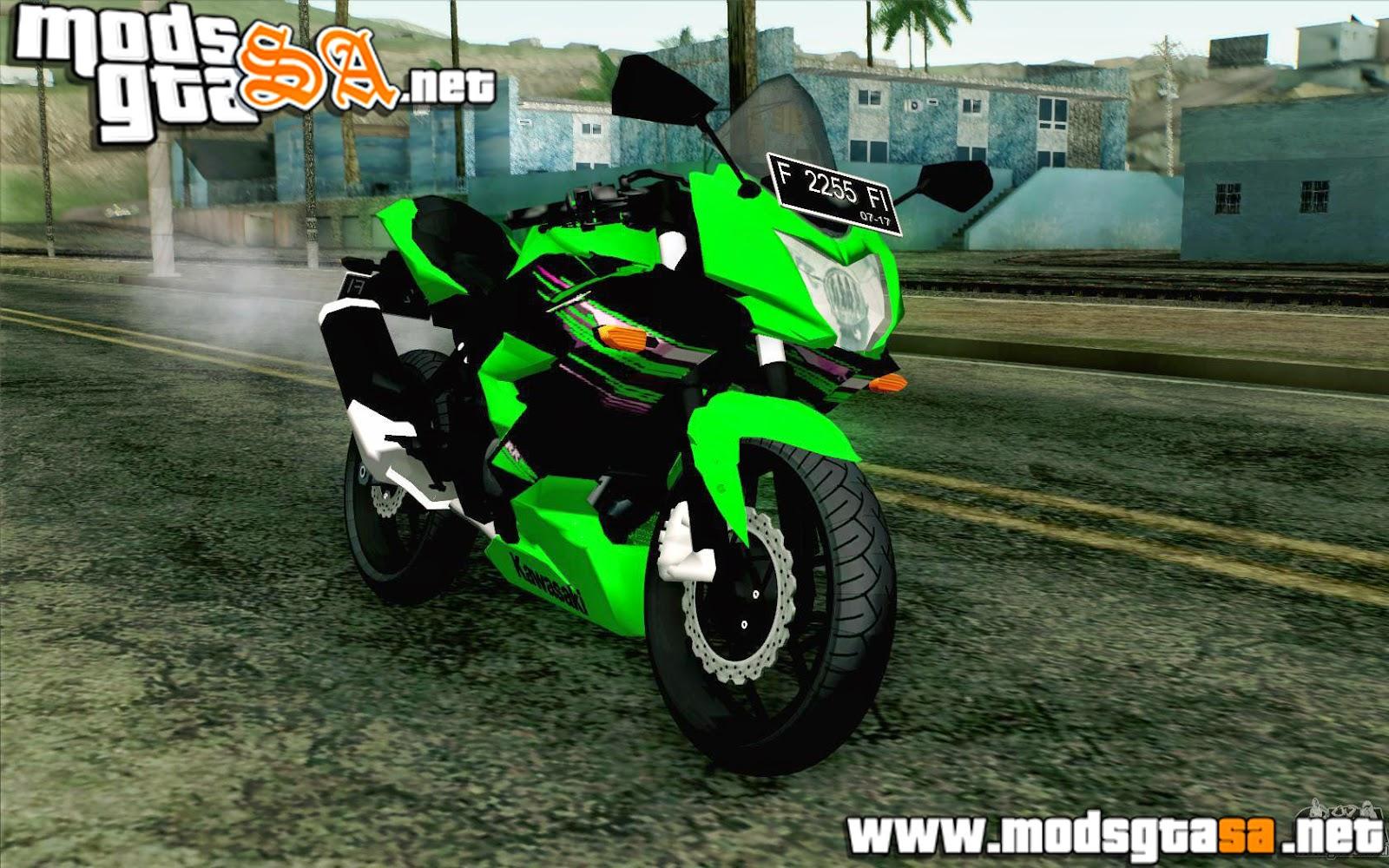SA - Kawasaki Ninja 250RR Mono Green