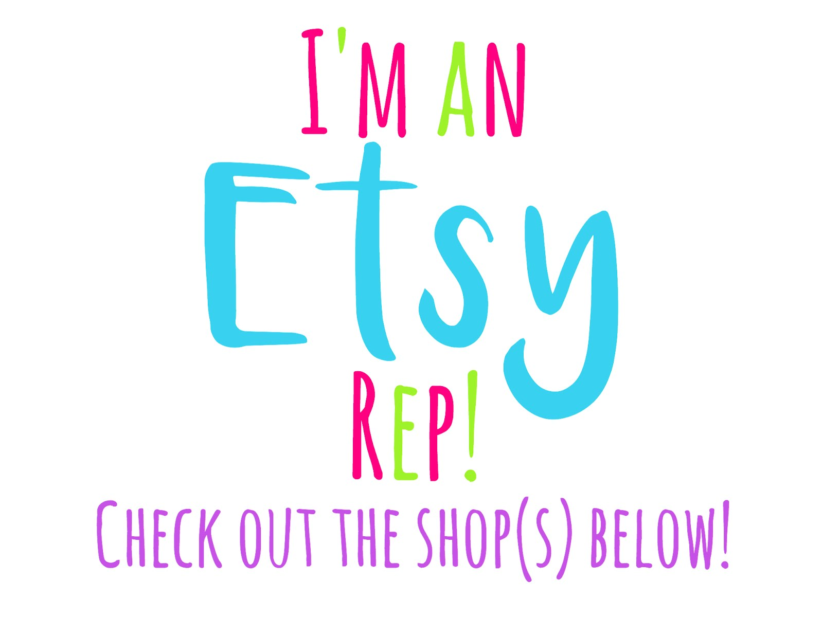 I'm an Etsy Rep!
