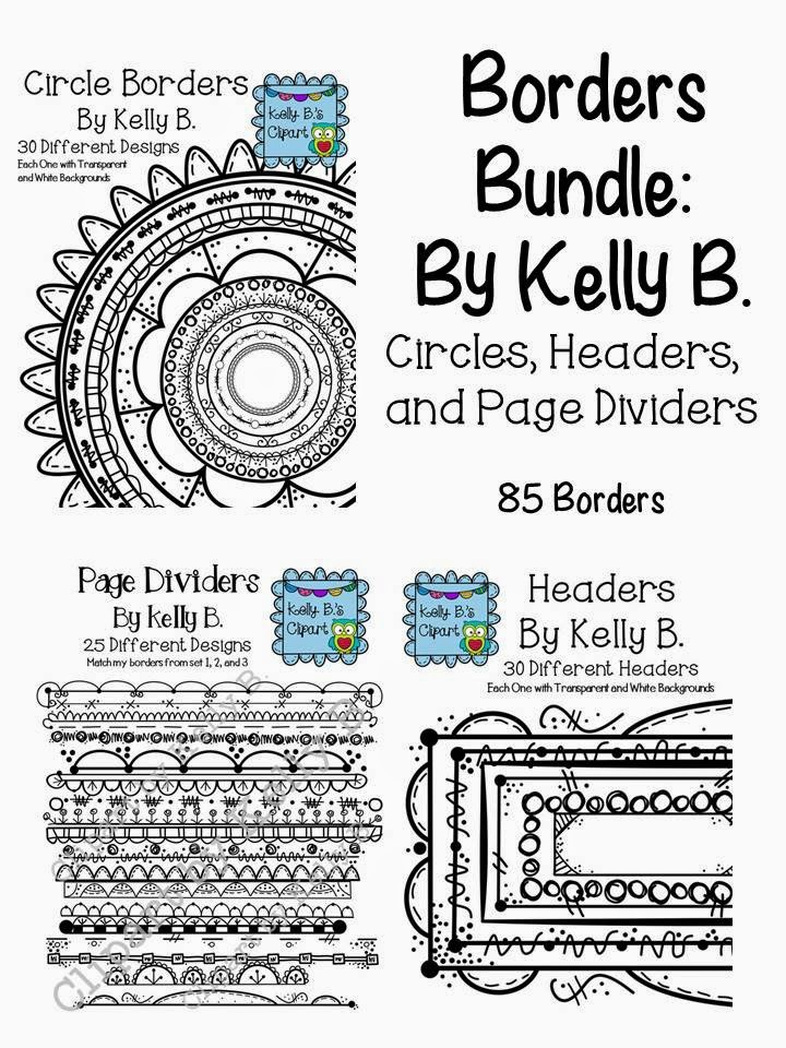 http://www.teacherspayteachers.com/Product/Borders-Bundle-By-Kelly-B-Cirlces-Headers-and-Page-Dividers-1301539