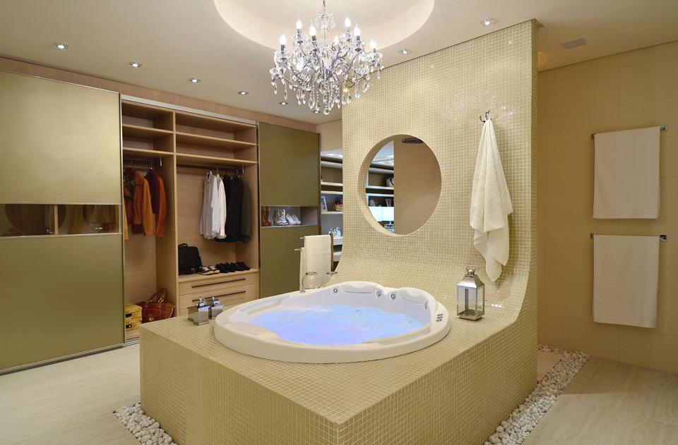 Arquitetura sem mistério  Banheiro ou spa? -> Banheiro Pequeno Spa