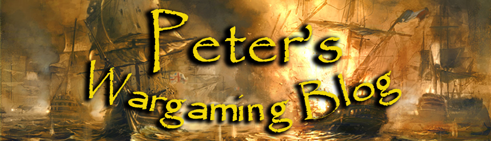 Peter's Wargaming Blog