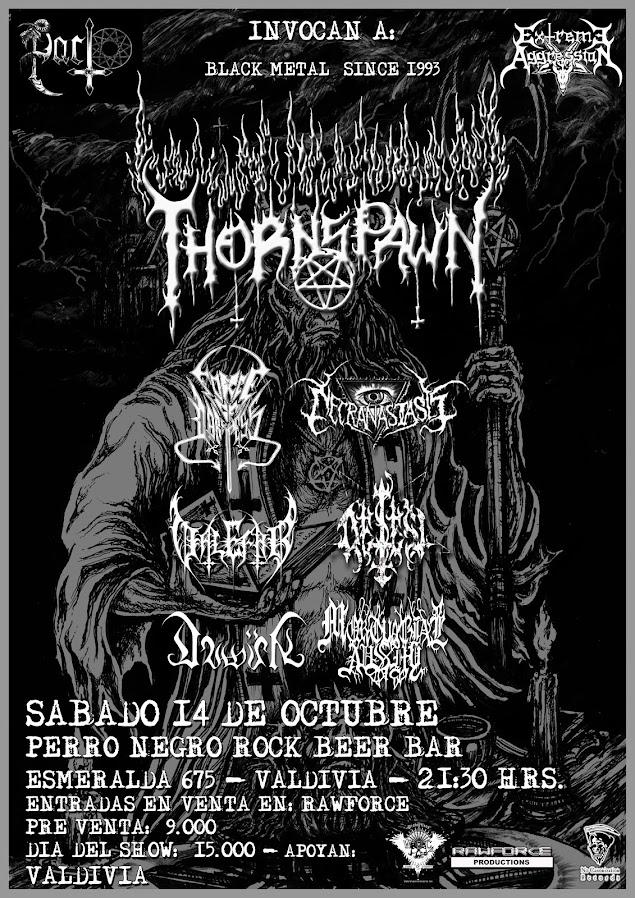 Thornspawn(US) En Valdivia 14 Octubre 2017