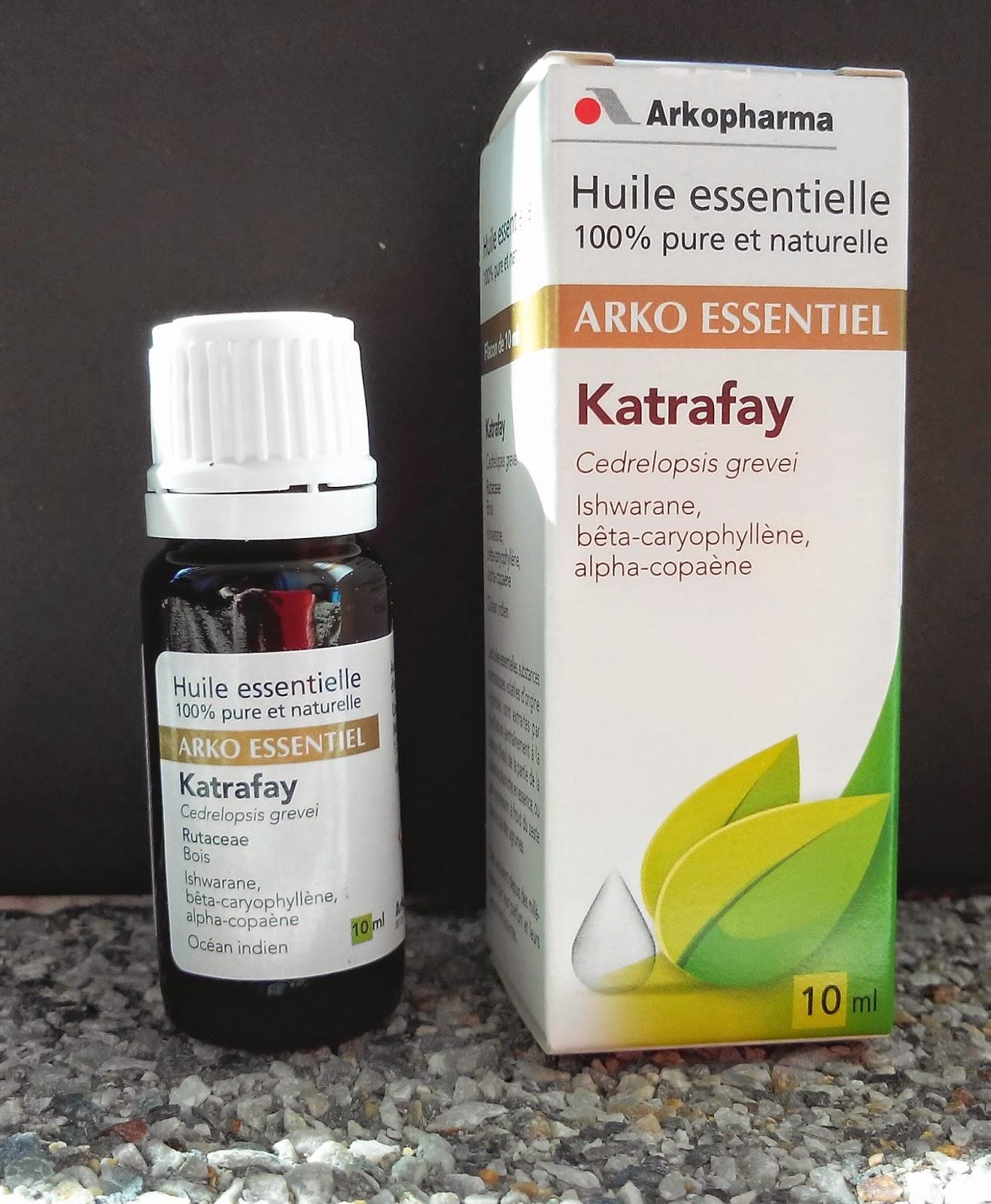 huile essentielle de Katrafay desLaboratoires Arkopharma BullElodie