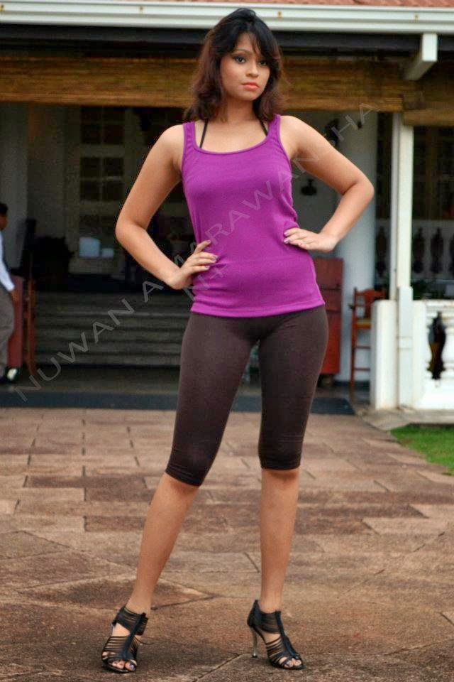 Sri Lankan Models sexy leggings
