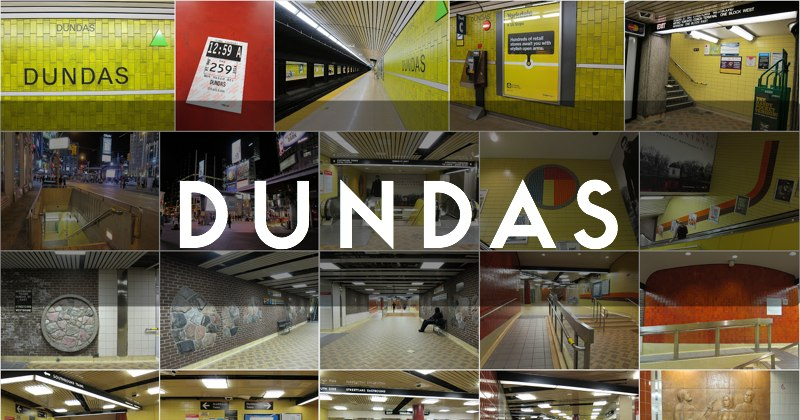 Dundas station photo gallery