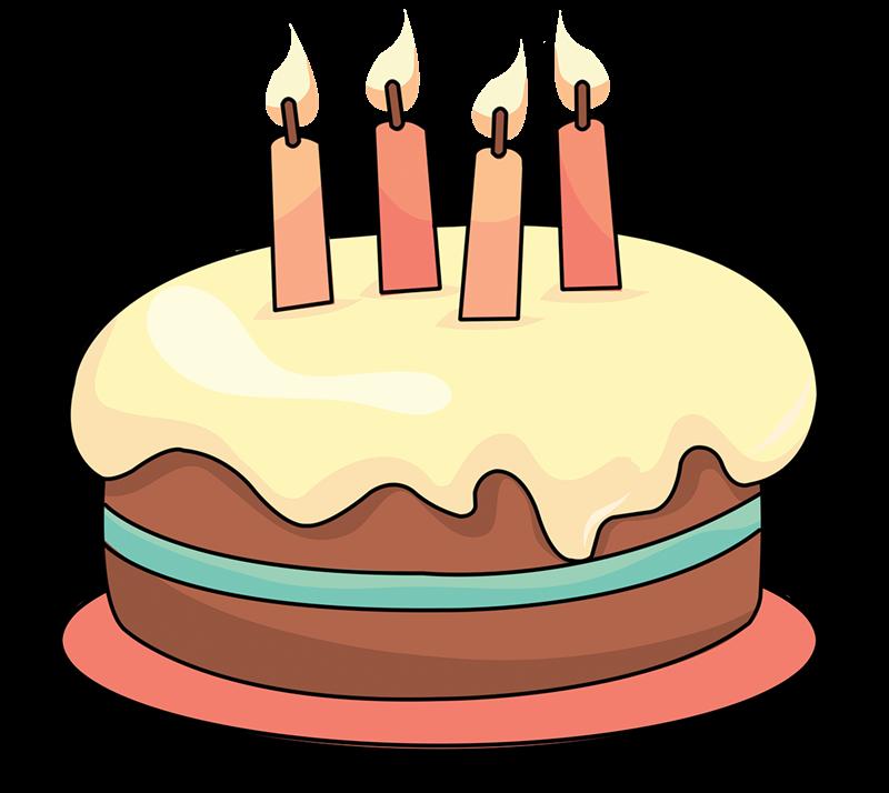 Layer Cake Cartoon Hd