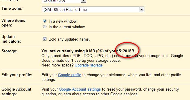 Google Docs Accounts gets 5GB free storage, Is this Google ...