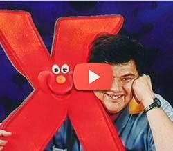 Abertura do programa X-Tudo comandado pelo Gerson de Abreu.