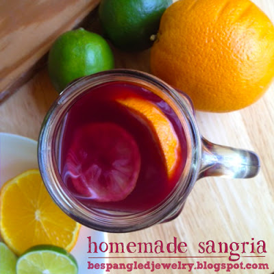Homemade Sangria Recipe - Warning! Not for Lightweights!!