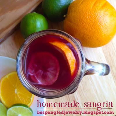 Homemade Sangria Recipe - Warning! Not for Lightweights!!