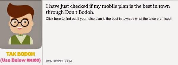 Don't be Bodoh Campaign