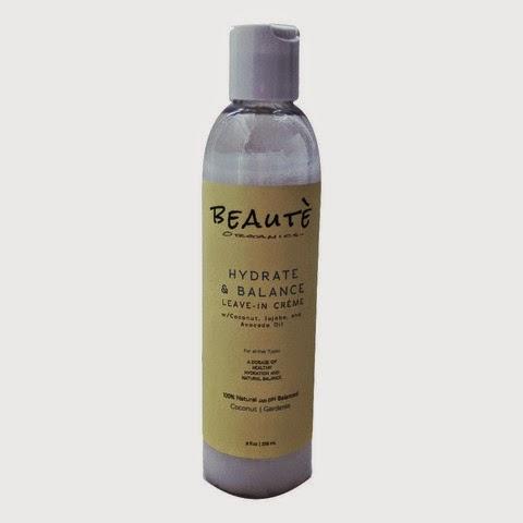 Beautè Organics Hydrate & Balance Leave In Cream