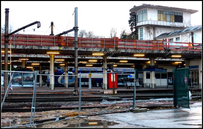 Gare Chantiers Versailles train station