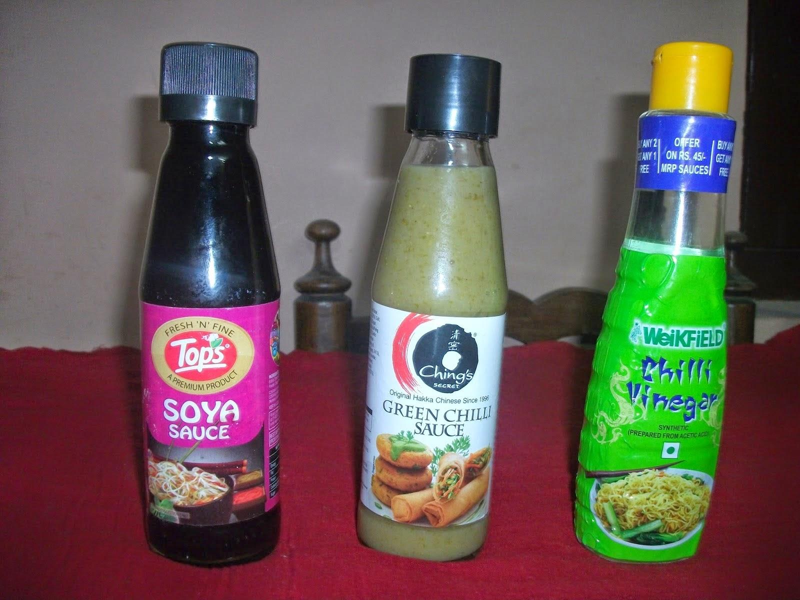 Chilli Paneer Ingredients