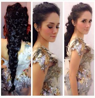 Foto Model Rambut Mulan Jameela Terbaru