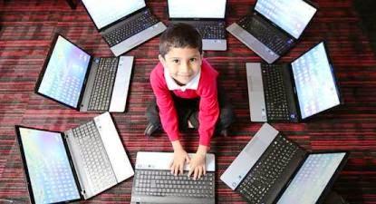 Anak Berumur Lima Tahun Jadi Spesialis Komputer