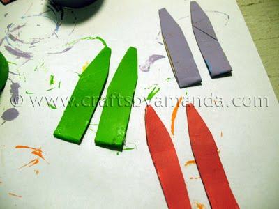 coelhinho da pascoa com rolo de papel  Step6