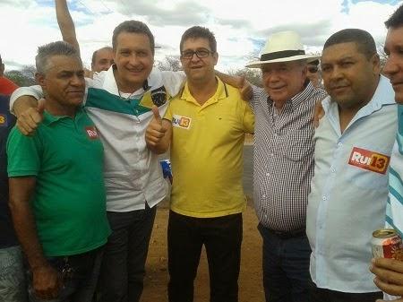 """""""Quero me tornar filho de Rio do Pires"""", declarou Rui Costa"""