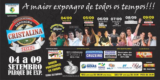 Exposição Agropecuária de Cristalina 2012