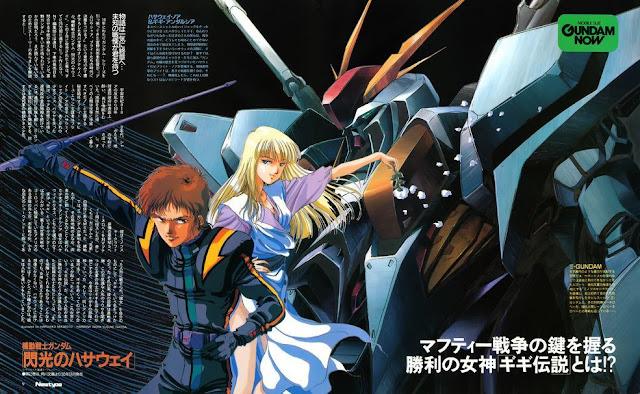 Hathaway's Flash events debuts in Gundam Unicorn Episode 7 ...