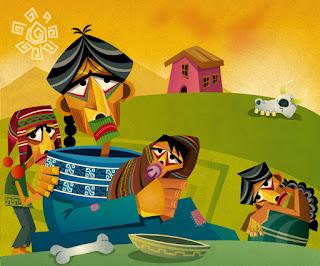 ilustracion ciudad de enanos