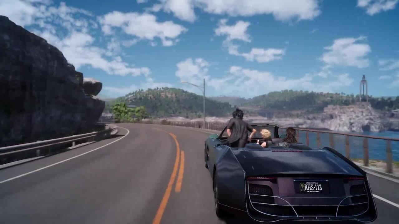 Final Fantasy XV Menghadirkan Driving Mode Yang Super Keren Tidak Seperti Seri-Seri Sebelumnya